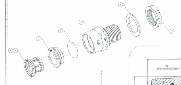 Push fit valve design