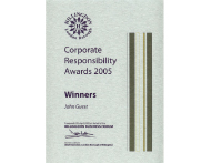 Corporate Responsibility Award 2005