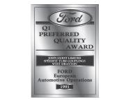 Ford Motor Company Q1 Award 1991
