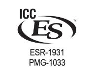 ICC-ES 2008 (USA) ASTM F876, F877 & ASSE 1061