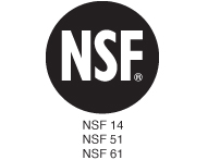 1997 NSF/ANSI 14, 51 & 61