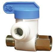 Angle stop adaptor valve