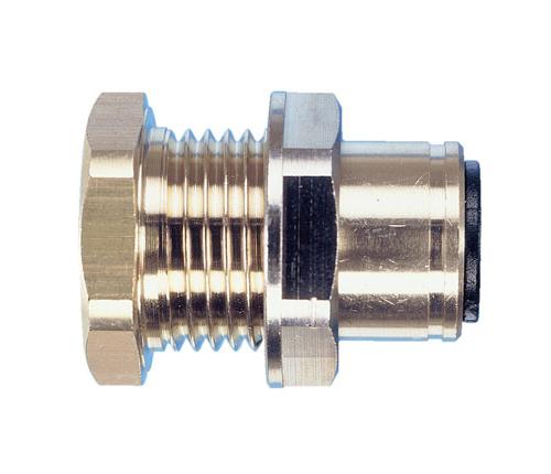 Brass bulkhead connector john guest