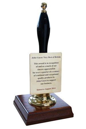 Innserve award for John Guest