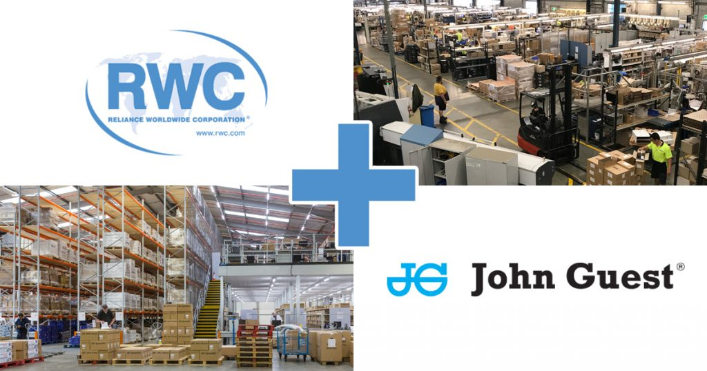 Reliance Worldwide Corporation and John Guest
