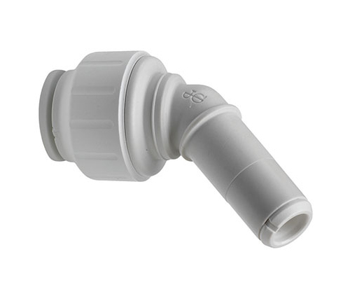Push-fit Plastic 135 Degree Stem Elbow
