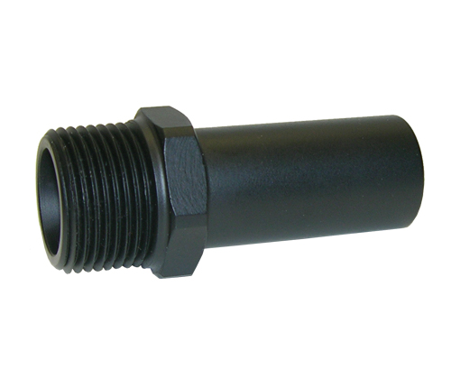 Black CTS MALE STEM ADAPTER