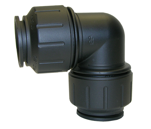 Black CTS UNION ELBOW