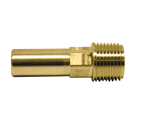 Push-fit Brass Male Stem Adaptor