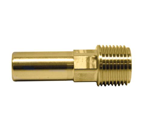 Push-fit Brass Male Stem Adaptor