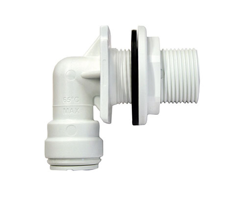Bulkhead Elbow 10 15 22 28mm Fittings