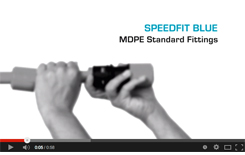 "UG4501B PACK OF 2 SPEEDFIT 20mm x 1//2/"" MDPE Female Adaptor"