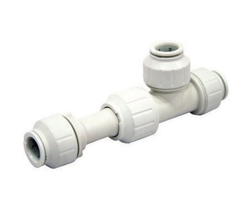 Push-fit Plastic Slip Tee Connector