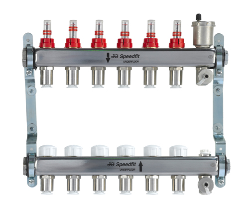 Push-fit Stainless Steel Manifold
