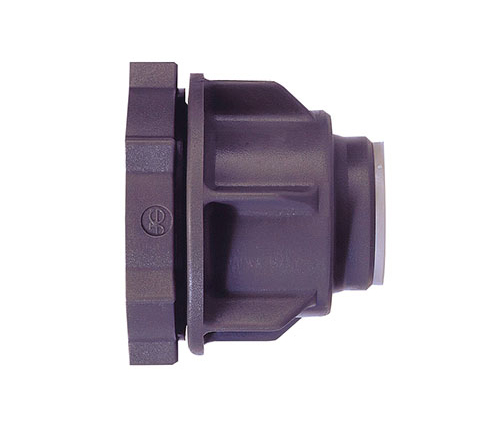 Push-fit Plastic Tank Connector