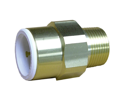 Brass male connector john guest speedfit