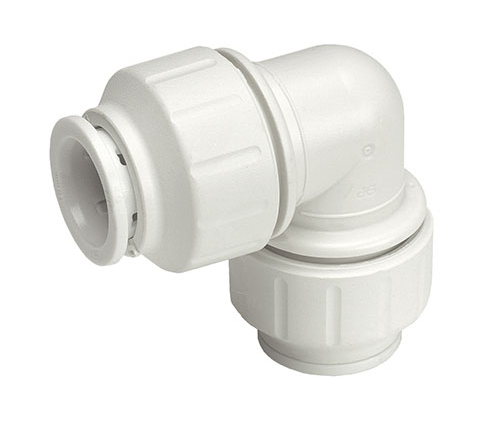 Push-fit Plastic Equal Elbow