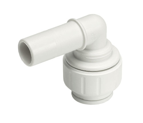 Push-fit Plastic Stem Elbow
