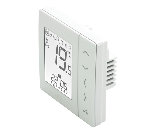 230v underfloor heating thermostat in white jg aura 230v range rh johnguest com DIY Underfloor Heating john guest underfloor heating installation diagram