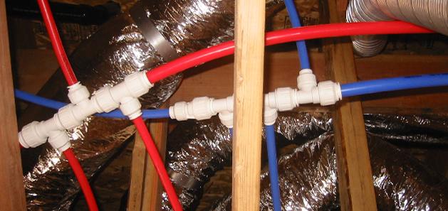 Plumbing fittings using speedfit technology
