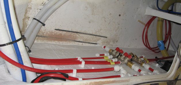 Push-Fit Plumbing & Heating piping