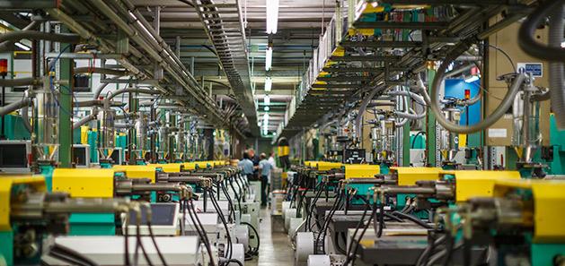 UK plumbing fittings factory