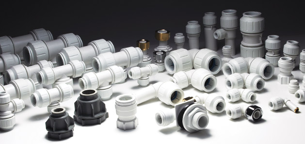 push-fit plumbing fittings
