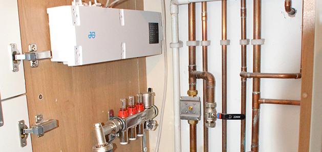 Residential Property Plumbing installation