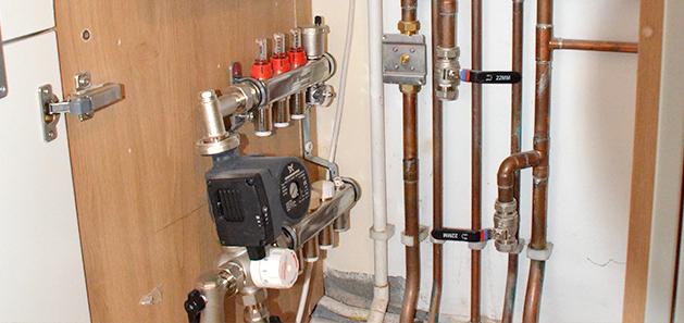 Residential Property Underfloor Heating