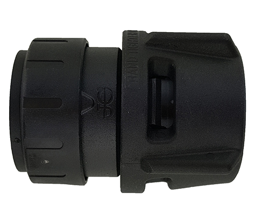 Push-fit Female Connector - Black