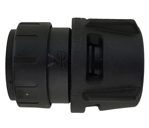 Push-fit Female Connector - Black