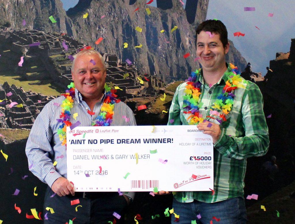 Layflat Pipe Giveaway Winners