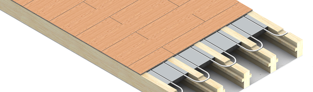 JG Speedfit timber underfloor heating system