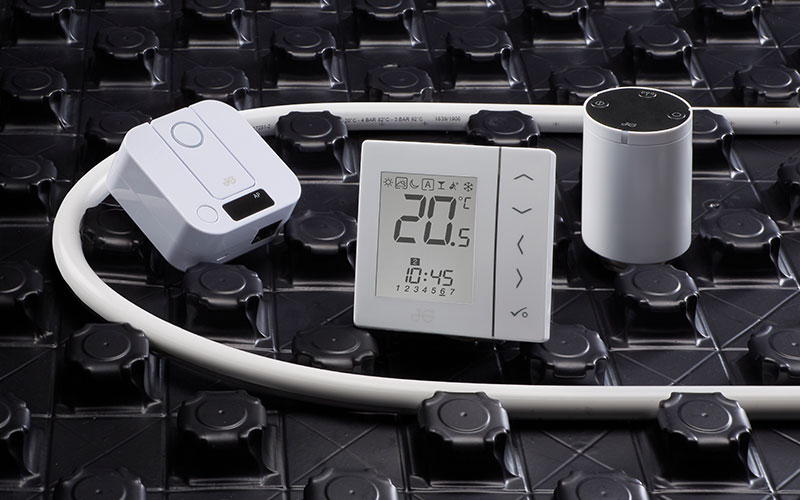 JG Aura thermostat for smart heating