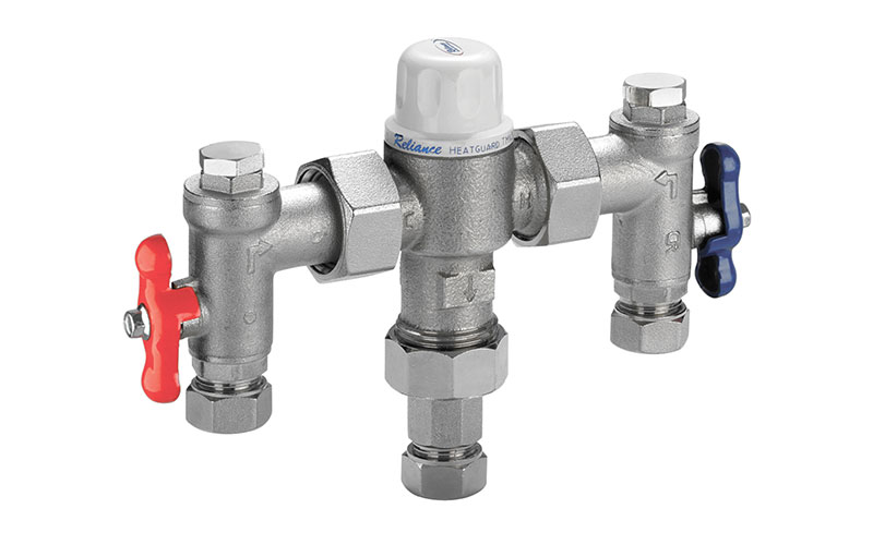 RWC Heatguard thermostatic mixing valves
