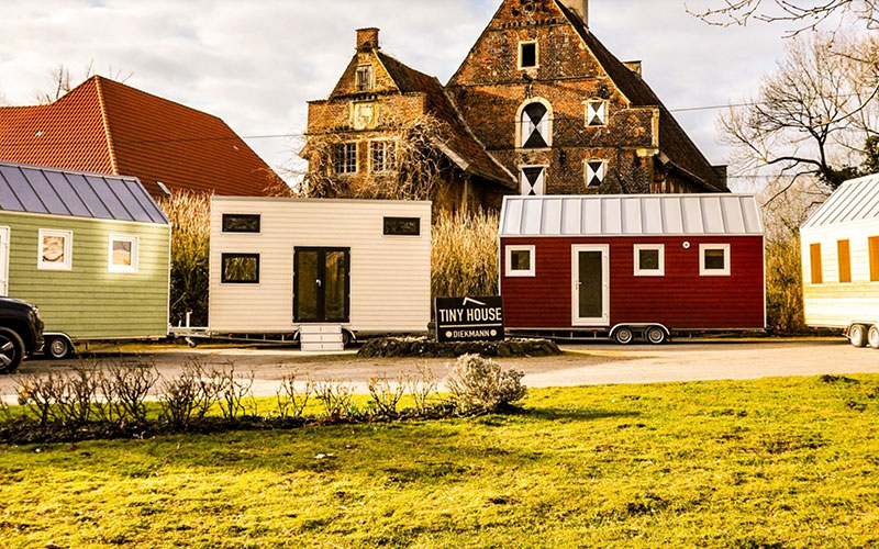 Tiny House project based in Hamm, Germany