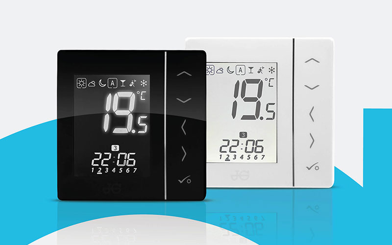 JG Aura thermostats