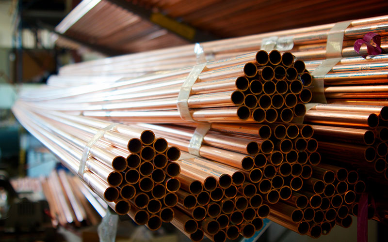 Why are copper pipes used for plumbing
