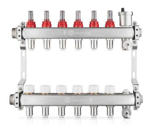 JG LowFit Underfloor Heating Manifolds