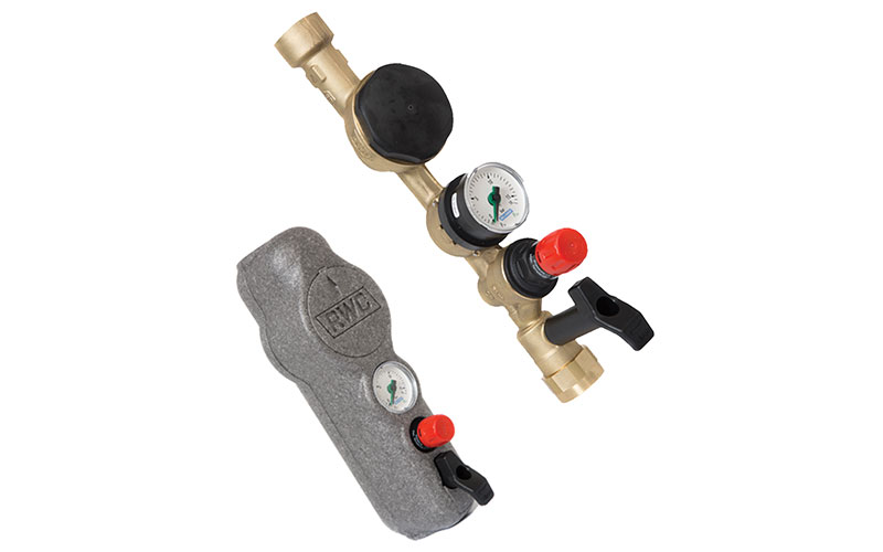 RWC valve for commercial builds